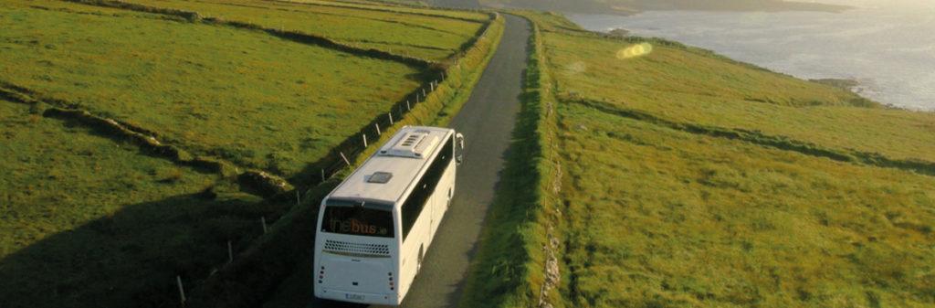 Public transportation on Ireland trip