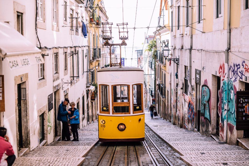 Lisbon's wooden trams