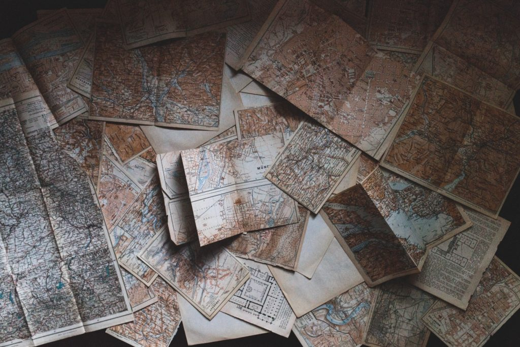 Europe map - destinations to go see