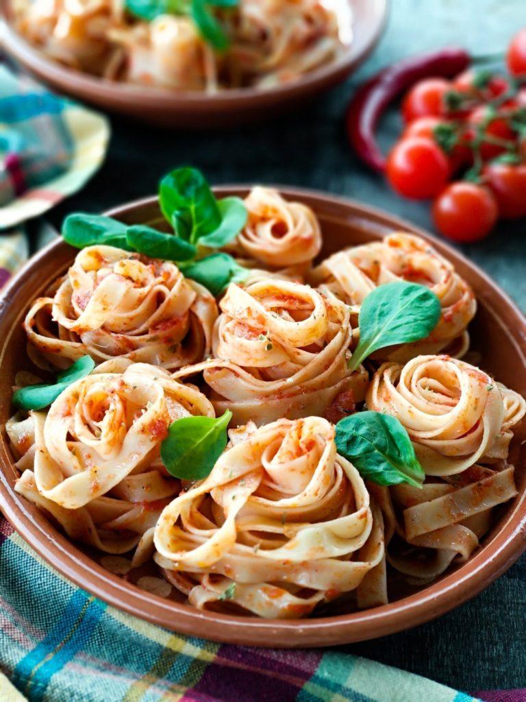 Italian pasta - food