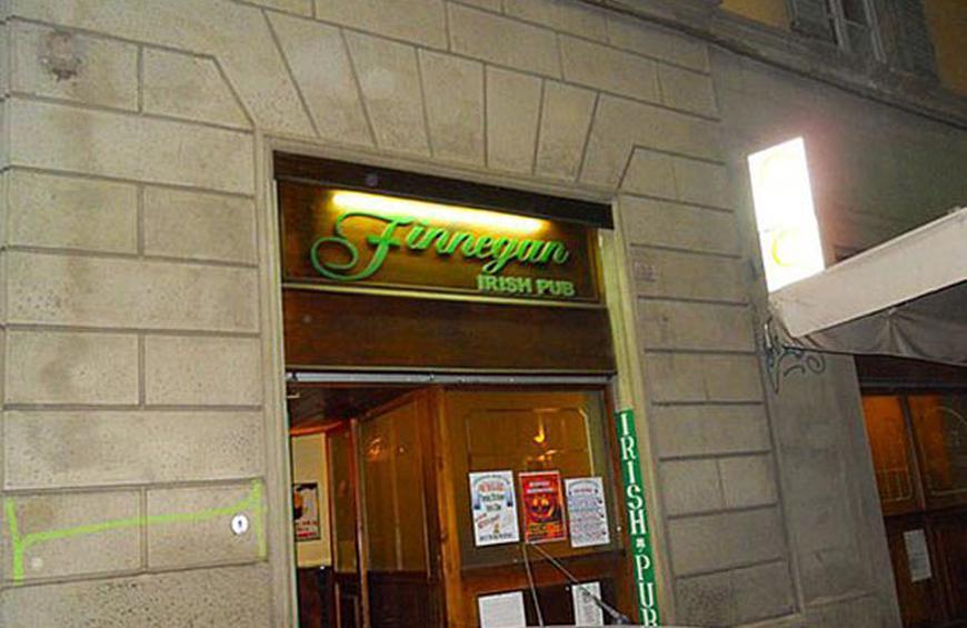 Finnegan Irish Pub - Florence Italy