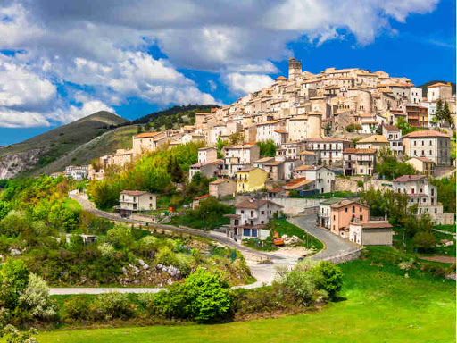 Castel Del Monte, Abruzzo Italy