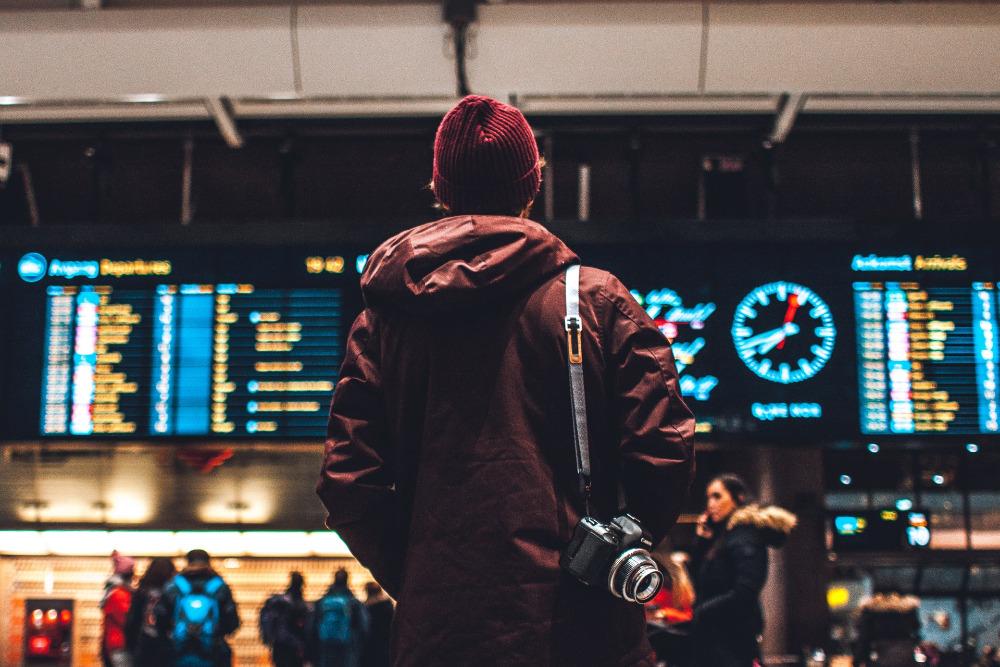 honeymoon airport