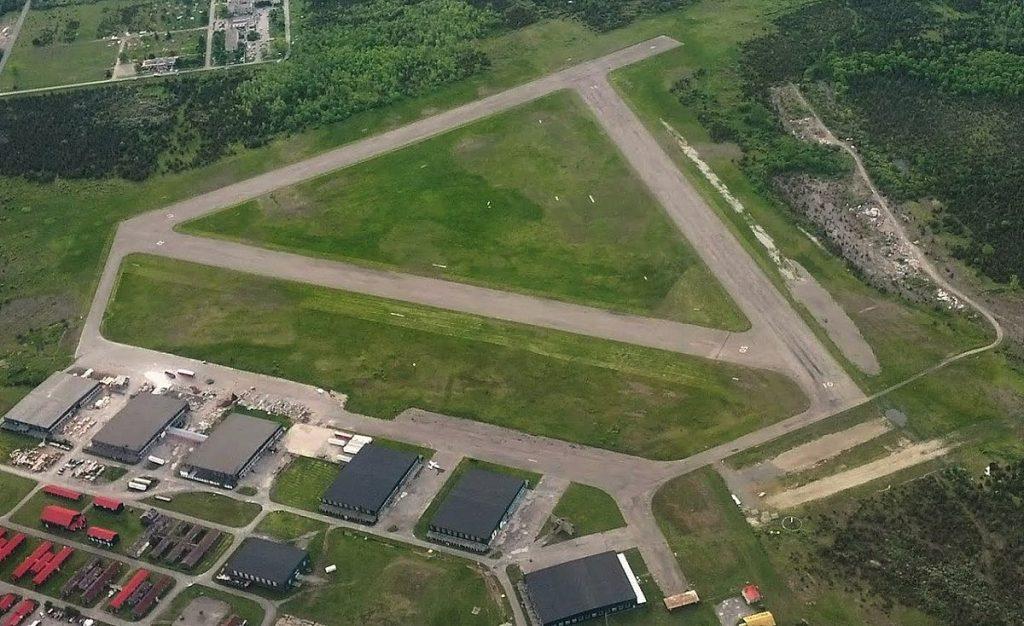 private air field